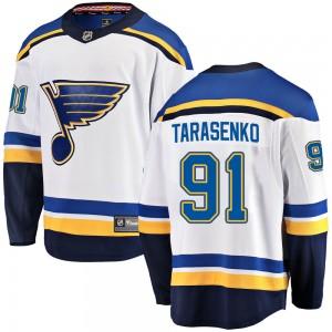 Vladimir Tarasenko St. Louis Blues Men's Fanatics Branded White Breakaway Away Jersey