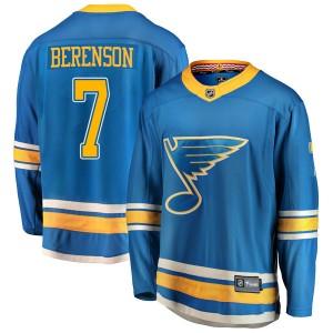 Red Berenson St. Louis Blues Youth Fanatics Branded Blue Breakaway Alternate Jersey