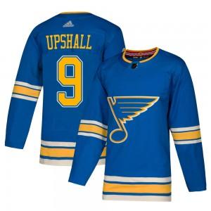 Scottie Upshall St. Louis Blues Men's Adidas Authentic Blue Alternate Jersey