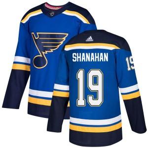 Brendan Shanahan St. Louis Blues Men's Adidas Authentic Blue Home Jersey