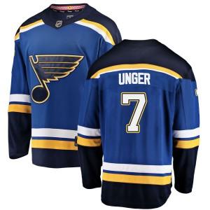Garry Unger St. Louis Blues Youth Fanatics Branded Blue Breakaway Home Jersey