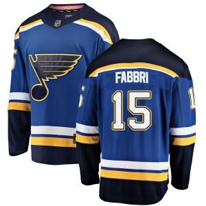 Robby Fabbri St. Louis Blues Men's Fanatics Branded Blue Breakaway Home Jersey