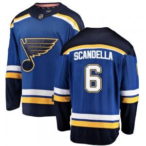 Marco Scandella St. Louis Blues Men's Fanatics Branded Blue ized Breakaway Home Jersey