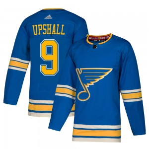 Scottie Upshall St. Louis Blues Youth Adidas Authentic Blue Alternate Jersey