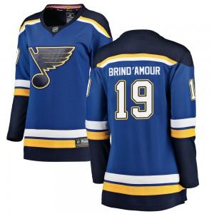 Rod Brind'amour St. Louis Blues Women's Fanatics Branded Blue Breakaway Home Jersey