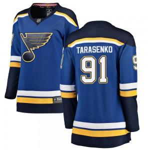 Vladimir Tarasenko St. Louis Blues Women's Fanatics Branded Blue Breakaway Home Jersey