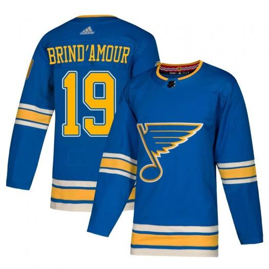 Rod Brind'amour St. Louis Blues Men's Adidas Authentic Blue Alternate Jersey
