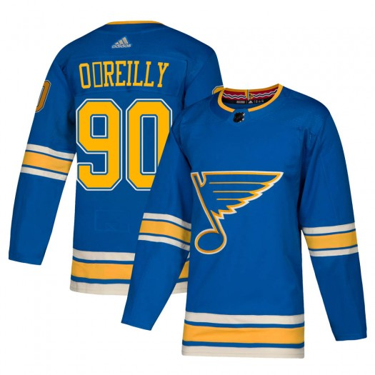 Ryan O'Reilly St. Louis Blues Men's Adidas Authentic Blue Alternate Jersey