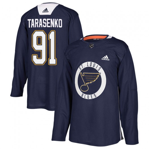 Vladimir Tarasenko St. Louis Blues Youth Adidas Authentic Blue Practice Jersey