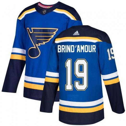 Rod Brind'amour St. Louis Blues Men's Adidas Authentic Blue Home Jersey