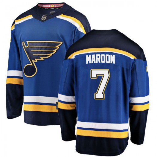 Patrick Maroon St. Louis Blues Men's Fanatics Branded Blue Breakaway Home Jersey