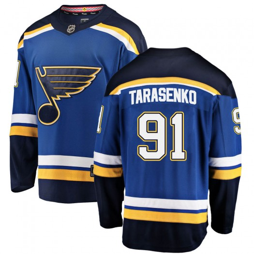 Vladimir Tarasenko St. Louis Blues Men's Fanatics Branded Blue Breakaway Home Jersey
