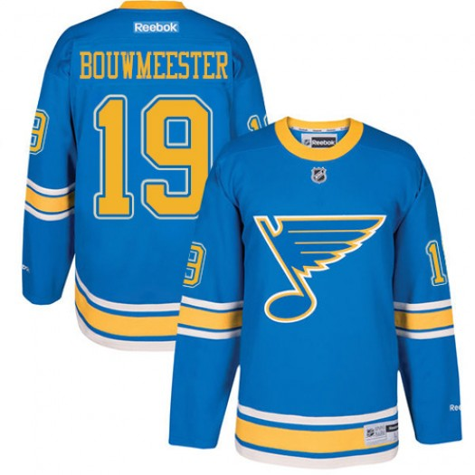 Jay Bouwmeester St. Louis Blues Youth Reebok Authentic Blue 2017 Winter Classic Jersey