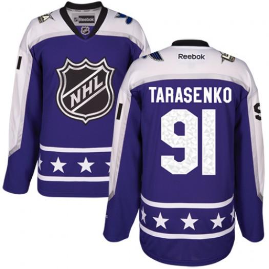 Vladimir Tarasenko St. Louis Blues Men's Reebok Authentic Purple Central Division 2017 All-Star Jersey