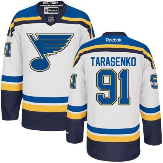 Vladimir Tarasenko St. Louis Blues Men's Reebok Authentic White Away Jersey