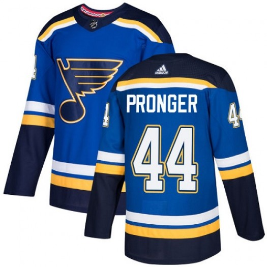 Chris Pronger St. Louis Blues Youth Adidas Authentic Royal Blue Home Jersey