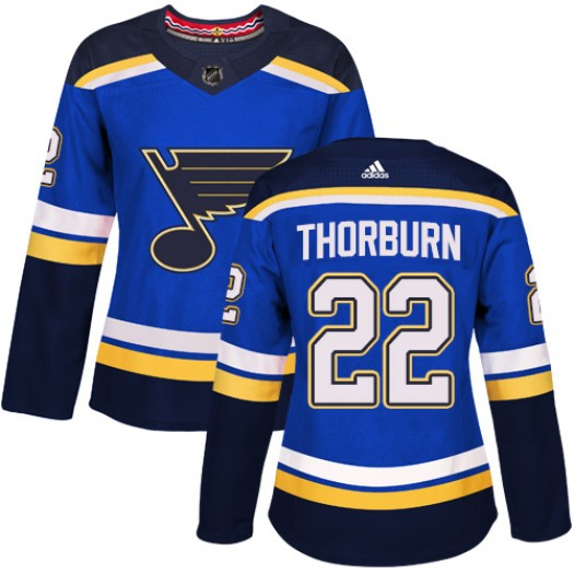 Ty Rattie St. Louis Blues Youth Adidas Authentic Royal Blue Home Jersey