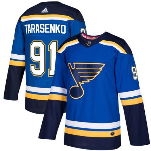 Vladimir Tarasenko St. Louis Blues Youth Adidas Authentic Royal Blue Home Jersey